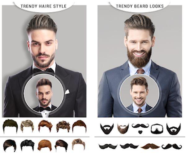 app para simular corte de cabelo