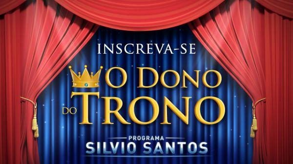 inscrição Sílvio Santos